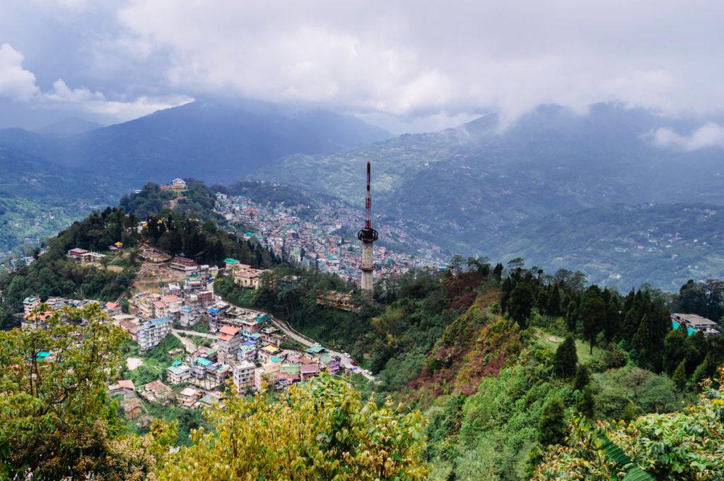 Gangtok-Aerial-View